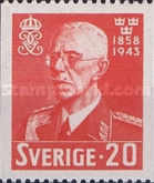 [The 85th Anniversary of the Birth of King Gustav V, 1858-1950, type CB]