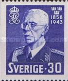 [The 85th Anniversary of the Birth of King Gustav V, 1858-1950, type CB3]