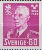 [The 85th Anniversary of the Birth of King Gustav V, 1858-1950, type CB4]