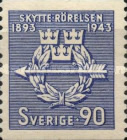 [The 50th Anniversary of the Swedish Voluntary Rifle Association, type CC3]
