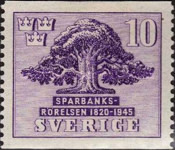 [The 125th Anniversary of the Swedish Savings Bank, type CN]