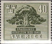 [The 125th Anniversary of the Swedish Savings Bank, type CN3]