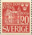 [The 800th Anniversary of the Birth of the Lund Cathedral, type CP]