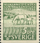 [Horses - The 100th Anniversary of the First Agricultural Congress in Sweden, type CQ]