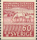 [Horses - The 100th Anniversary of the First Agricultural Congress in Sweden, type CQ4]