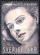 [The 100th Anniversary of the Birth of Ingrid Bergman, 1915-1982, type CRV]