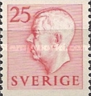 [King Gustaf VI Adolf of Sweden & Tree Crowns - Without Imprint, type DB12]