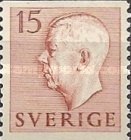 [King Gustaf VI Adolf of Sweden - Without Imprint, type DB3]