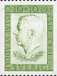 [The 70th Anniversary of the Birth of Gustav VI Adolf, type DF]