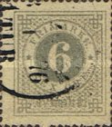 [Numerals in Circle - Different Perforation, type F15]
