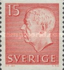 [King Gustaf VI Adolf of Sweden - White Numerals, with Imprint, type FA]