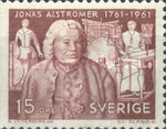 [The 200th Anniversary of the Birth of Jonas Alströmer, type FC1]