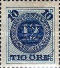 [Numerals in Circle Stamps of 1877-1878 Overprinted with Tree Crowns and Surcharged, type I]