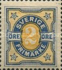 [Numeral Stamps, type K1]