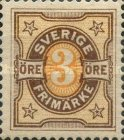 [Numeral Stamps, type K2]
