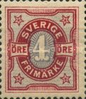 [Numeral Stamps, type K3]