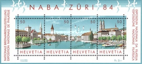 [National Philatelic Exhibition NABA ZURI `84, Zurich, Tip ]