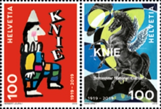 [The 100th Anniversary of Swiss National Circus Knie, Typ ]