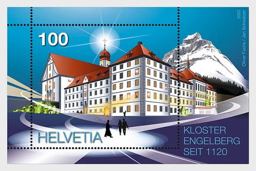 [The 900th Anniversary of Engelberg Abbey, type ]
