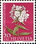 [Pro Juventute - The 150th Anniversary of the Birth of Alexandre Calame - Meadow and Garden Flowers, type ABO]