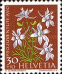 [Pro Juventute - The 150th Anniversary of the Birth of Alexandre Calame - Meadow and Garden Flowers, type ABP]
