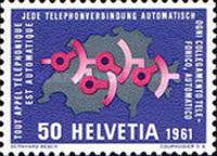 [Events - Development Aid - Exhibition HYSPA 1961 - European and World Ice Hockey Championships - Automation Telephone, type ABU]
