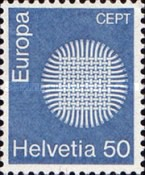 [EUROPA Stamps, type AJH]