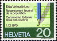 [The 75th Anniversary of the Swiss Football Association - Population Census - Swiss Alps - European Nature Conservation Year, type AJN]