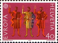 [EUROPA Stamps - Historic Events, Tip AUS]