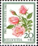 [Pro Juventute - Stamp Day - Roses, Tip AVI]