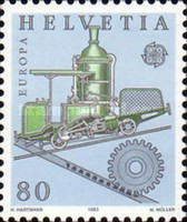 [EUROPA Stamps - Inventions, Tip AVV]
