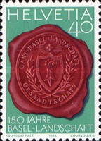 [The 150th Anniversary of the Basel-Landschaft Canton, Tip AWA]