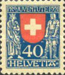 [PRO JUVENTUTE - Coat of Arms, type BE]