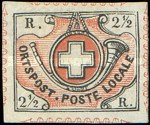 [Swiss Federal Cross and Post Horn, type C]