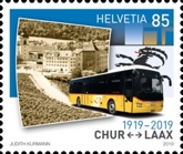[The 100th Anniversary of  Postbus Routes, Typ CVK]