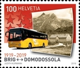 [The 100th Anniversary of  Postbus Routes, Typ CVL]