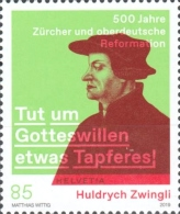 [The 500th Anniversary of the Reformation in Zurich and Southern Germany - Joint Issue with Germany, Typ CVY]