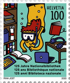 [The 125th Anniversary of the Swiss National Library, Typ CXI]