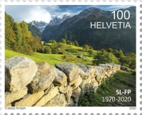 [The 50th Anniversary of the Swiss Foundations for Landscape Conservation, type CXR]
