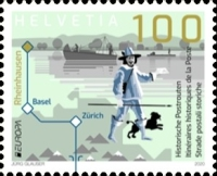 [EUROPA Stamps - Ancient Postal Routes, type CYB]