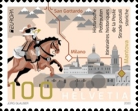 [EUROPA Stamps - Ancient Postal Routes, type CYC]