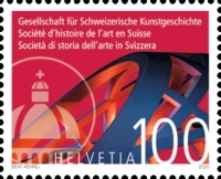 [The 140th Anniversary of the Society for the History of Swiss Art, type CYD]