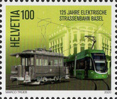 [The 125th Anniversary of the Basel Electric Tram, Typ CYG]