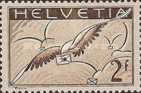 [Airmail - Carrier Pigeon, type JG]