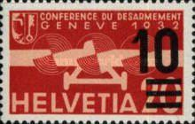 [Airmail - Stamps of 1932 Surcharged, type KW]