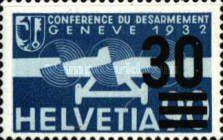 [Airmail - Stamps of 1932 Surcharged, type KW1]