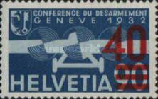 [Airmail - Stamps of 1932 Surcharged, type KW2]