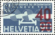 [Airmail - Stamps of 1932 Surcharged, type KW3]