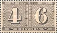 [The 100th Anniversary of the Swiss Stamps, Tip PP]
