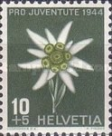 [Pro Juventute - The 100th Anniversary of the Birth of Numa Droz - Flowers, Tip QP]